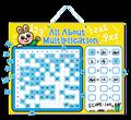 e1015 2015 magnetico apprendimento mulitplication tavolo giocattoli gioco da tavola peri bambinii bambini einsegnante educativo