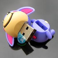 2014 PVC Animal USB Keychain/China wholesale pvc animal usb flash drive
