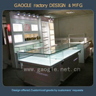 tempered glass Interior design ideas jewelry shops with led lights