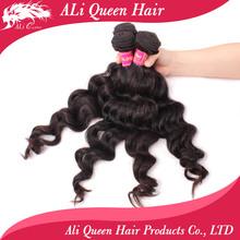 Ali queen Hair Products Hot sales indian/brazilian/malaysian WAVY virgin human hair weave