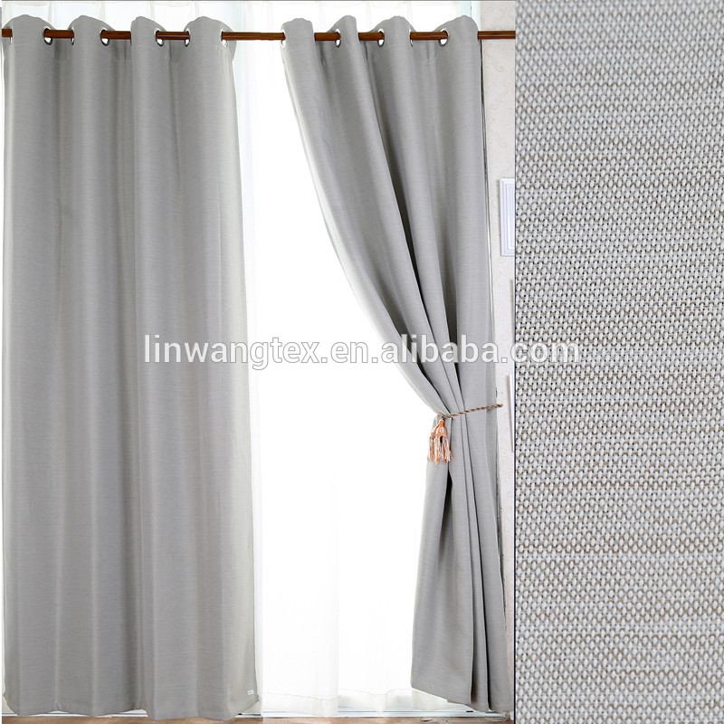 home decoration 100% polyester blackout fabric new design curtains