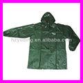 Precio barato ( espesor 0.1 - 0.3 mm ) de plástico de pvc lluvia chaqueta para hombre