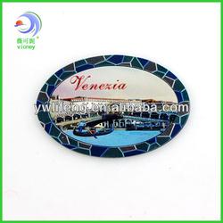 Venezia Gold Foil Paper Custom Fridge Magnets