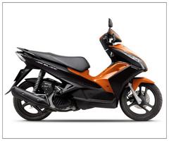 Motorcycle ( Hon-da Air blade 125cc)