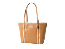 Madrid Brown Leather Bag GENUINE LEATHER - FUQSIA