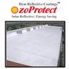White elastomeric roof coating