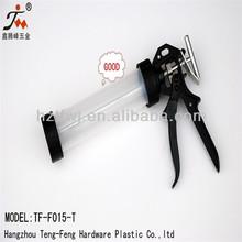 310ml plastic material Tube Sausage Caulking Gun with high grade/ model-T rod