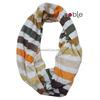 2015 Spring Summer Polyester Stripe Tube Scarf