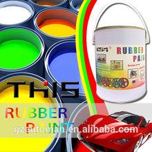 4liter liquid rubber plastic dip car body paint rubber coating spray for car