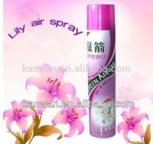 360ml Lily air spray liquid air freshener