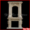 Indoor Carving Marble Fireplace Surround