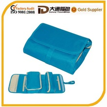 Roll up foldable travel cosmetic bag for travel