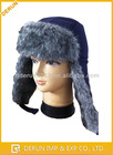 Earflap winter russian hats