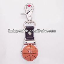 YJ-81 Latest hand watch Basketball design chain hanging watch