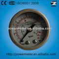 50mm llena de líquido de acero inoxidable de calibre dial calibrador