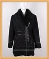 de invierno colthing artificial de imitación de piel de conejo abrigo para las mujeres