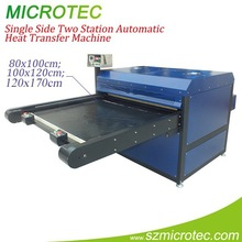 XSTM Single Side Two Station Automatic Heat Transfer Machine,large format heat press