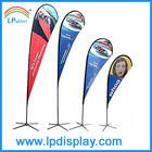 outdoor promotion beach banner advertising teardrop flag