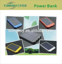 2015 new products power bank solar at 2600Mah/5000Mah/8000Mah/10000Mah