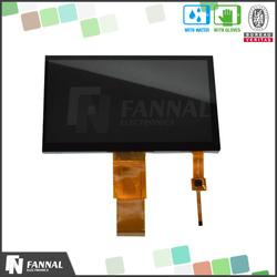 7'' 800*480 sunreadable capacitive touch screen car dvd player