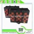 nuevo diseño de la insignia del cliente impreso de papel bolso de papel de portador de la bolsa