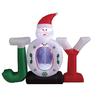 150cmH/5ft inflatable Christmas decoration Santa claus