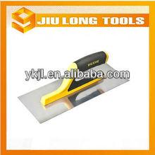 Duplo cor confortável cabo de plástico aço carbono ferramentas de reboco