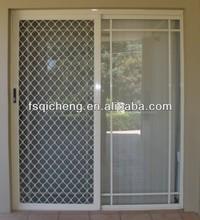 Window Shiny Metal Aluminium Mesh Grill