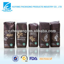 Starbucks flexible packaging for coffee packaging material