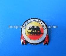 TEAM CALIFORNIA printing metal lapel pin badge souvenir