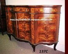 antique italian side board cabinet