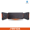Seenda mini ultra-thin bluetooth keyboard with 250mAh rechargable baterry for iOS/Android/Windows for iphone/ipad