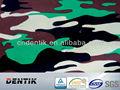 Membrana de PTFE laminado à prova d ' água de camuflagem militar tecido