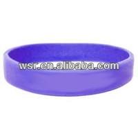 Colorful silicone rubber bracelets