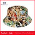 2014 caliente venta hermoso fashional por encargo camo barato pesca cubo tapa/sombrero