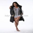 2014 Most New Long Slim Sexy Goose/Duck Down Jacket Coat for Women/Winter coats