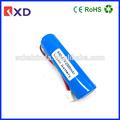 Bon prix 1p1s 18650 3.7v 2000 mah. batterie au lithium ion