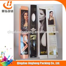 Customized hair extension box