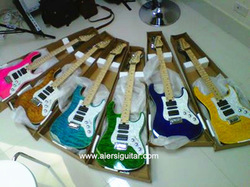 China Aiersi Colour Ash Skin Quality Cheap PRS style Electric Guitar for Sale