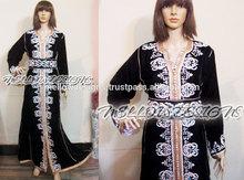 Hochwertige marokkanische kaftan, takchita, partei zu tragen kleid