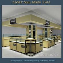 Famous brand fashion jewelry shop decoration design