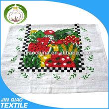 Custom Printed Standard Size Cotton Wholesale Linen Tea Towels