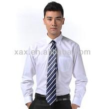 long sleeve business shirt men shirt and tie combinations
