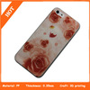 Beautiful flowers 3D printing case for iphone 5s mobile phone cover