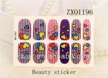 new design hot sales golden nail sticker