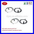 China sellado piezas de perforación terminal de estampación de piezas, pequeña estampación en zinc plateado arandela de acero
