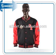 custom plain varsity jacket wholesale