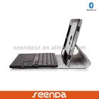 360 degree Rotation wireless bluetooth keyboard case for ipad air/mini/tablet PC