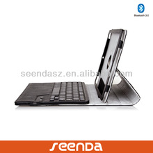 360 degree Rotation wireless bluetooth keyboard case for ipad air/mini/tablet PC