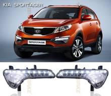 Hot sales LED Daytime Running/Driving Light for KIA SPORTAGE R 11'-13 DRL ,fog lamp,daytime driving light
